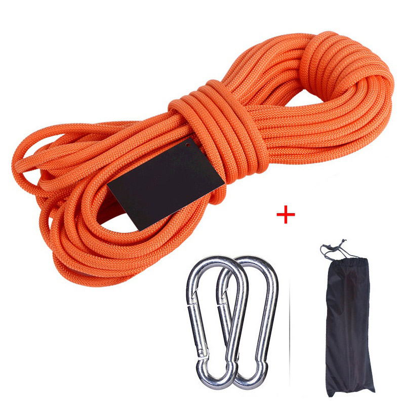 10//20//30m Rock Climbing Mountaineering Safety Rope Rescue Auxiliary Cord Outdoor